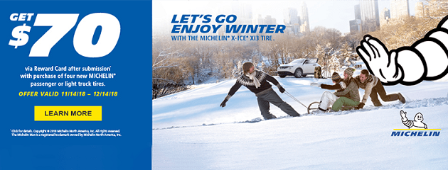 Michelin Winter Promo