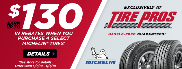 Michelin Spring Rebates
