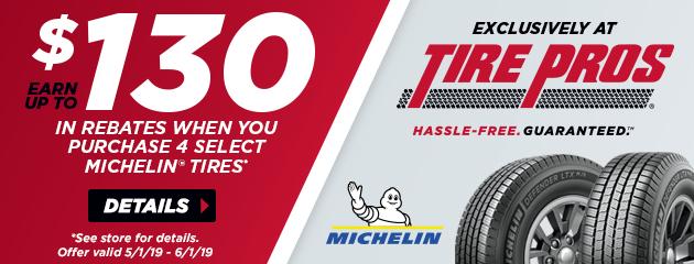 Michelin Spring Rebates