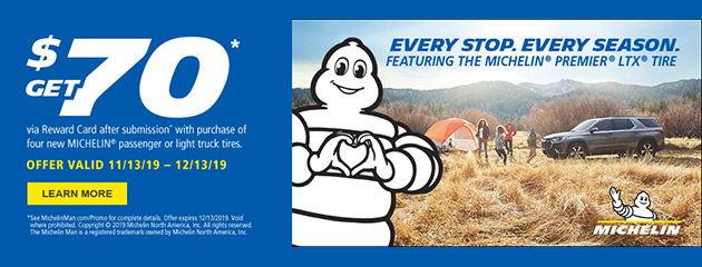 Michelin Winter Rebate