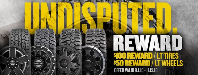 Mickey Thompson Fall Rebate Sale