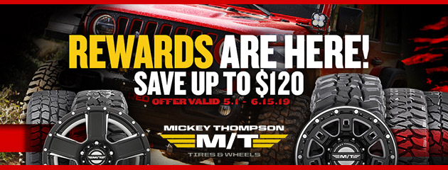 Mickey Thompson Spring Rebate Sale