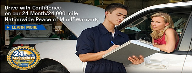 NAPA Nationwide Peace of Mind Warranty