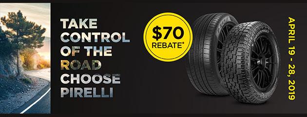 Pirelli Spring Rebate