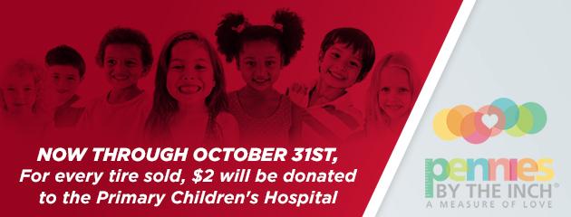 Primary Children's Hospital Donation