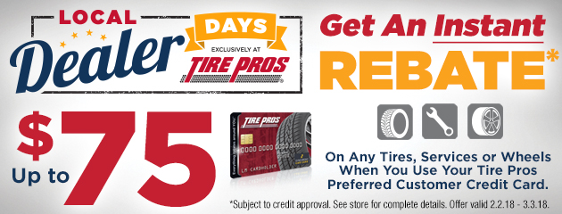 Local Dealer Days Rebate