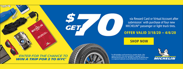 Michelin Spring Rebate