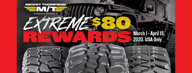 Mickey Thompson Spring Rebate