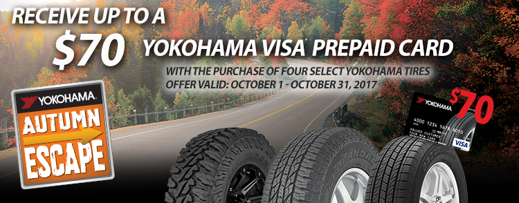 Yokohama Autumn Escape Rebate