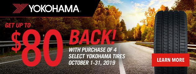 Yokohama Fall 2019 Rebate