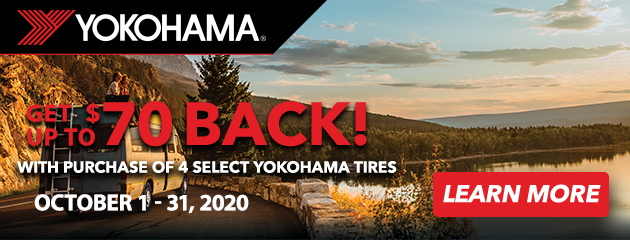 Yokohama Fall Rebate Offer