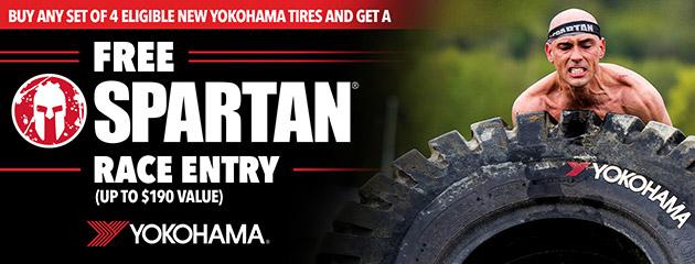 Yokohama Spartan Rebate