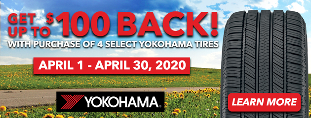 Yokohama April Rebate