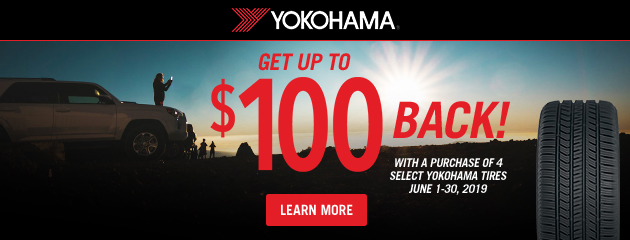 Yokohama Summer Rebate