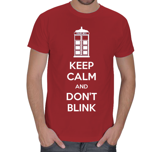 Doctor Who Keep Calm K�rm�z�