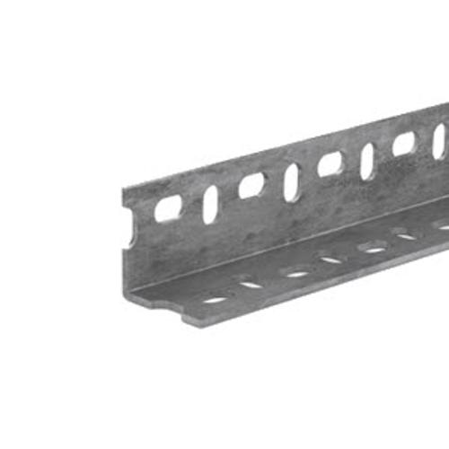 1 1/2 in x 72 in Perforated Galvanized Steel Angle