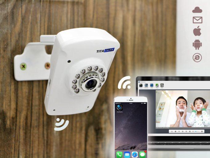titathink indoor wireless home ip camera