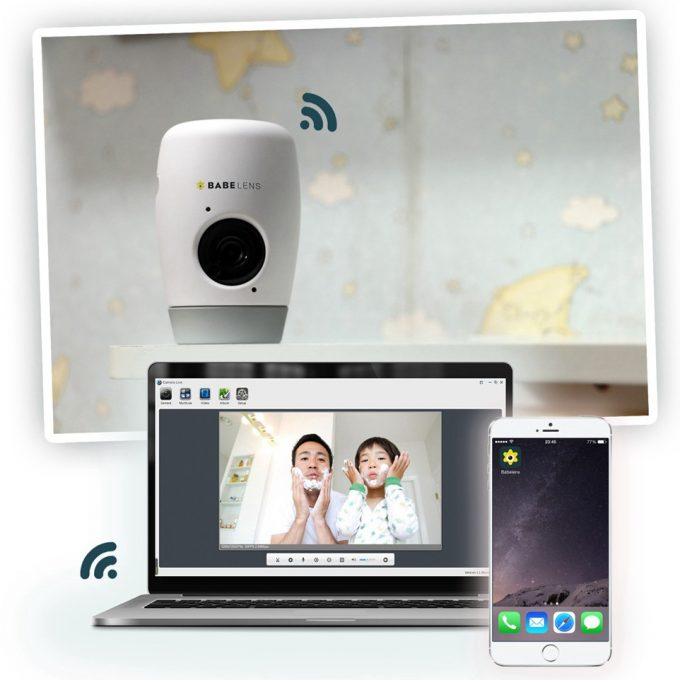 Wireless Full HD Home Security Camera For Home Baby Pets Monitoring