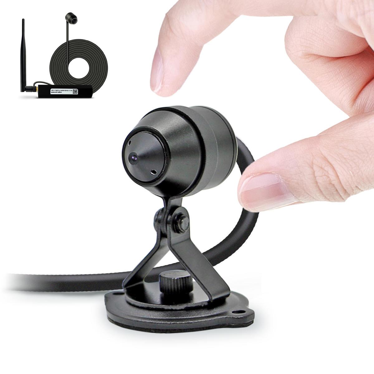 Mini Wireless HD Security Camera, Tiny Lens, Waterproof (TT521PW)