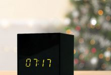 Titathink IP clock camera