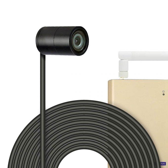 titathink TT525PW 1080P Wi-Fi PoE Small Mini Security Camera, Low light monitoring, waterproof