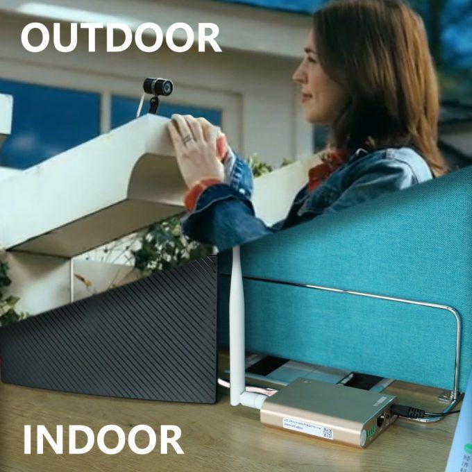 security camera outdoor application