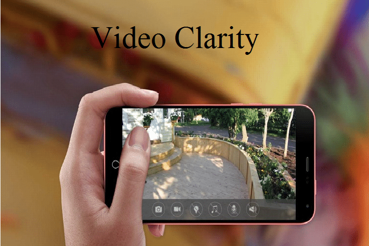 Video Clarity of WiFi Hidden Cameras