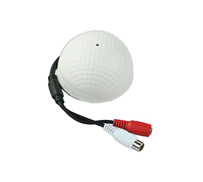Mini Audio Pickup Security Mic CCTV Microphone Audio Surveillance Device for CCTV Camera Security System