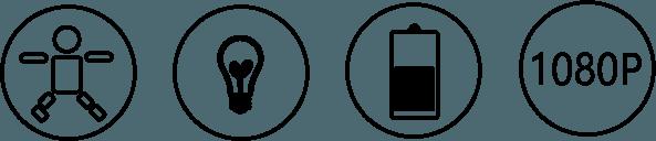 1080P Ultra Mini WiFi Cam, Battery Security Camera, Magnetic Bracket