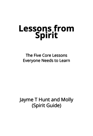 Lessons from Spirit