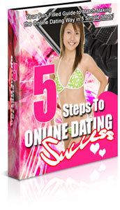 5 steps of online dating success