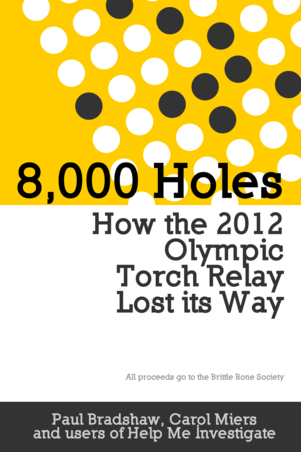 8000 Holes: How the 2012 Olympic Torch Relay Lost its Way cover page