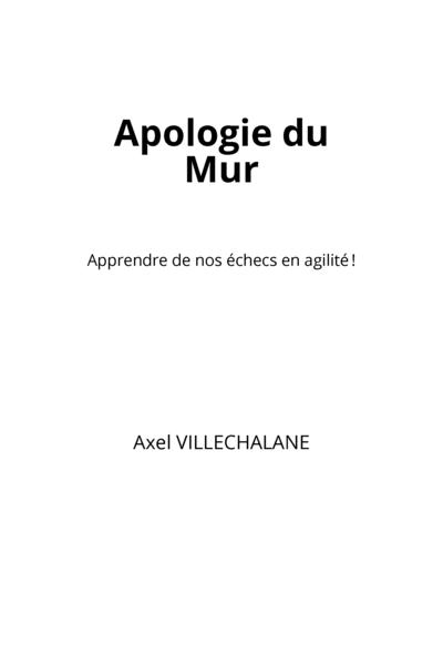Apologie du Mur