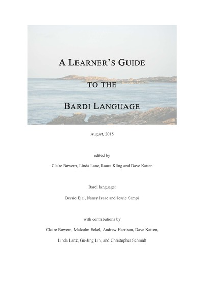 Learner's Guide to Bardi