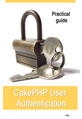 CakePHP User Authentication cover page