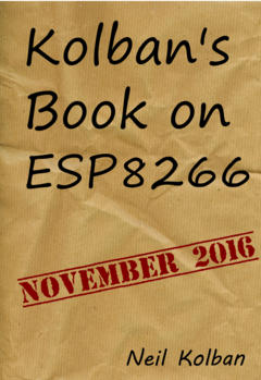 Kolban's Book on the ESP32 & ESP8266