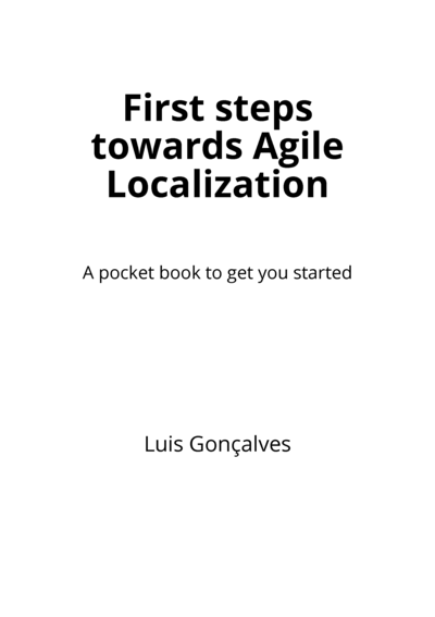 First steps towards Agile Localization