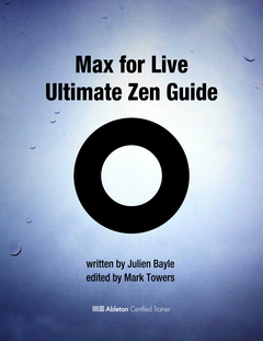 Max for Live Ultimate Zen Guide cover page