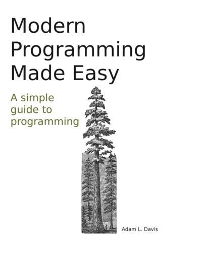 modern programming made by adam l davis pdf ipad kindle