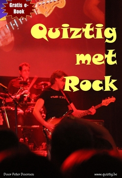 Quiztig met Rock cover page