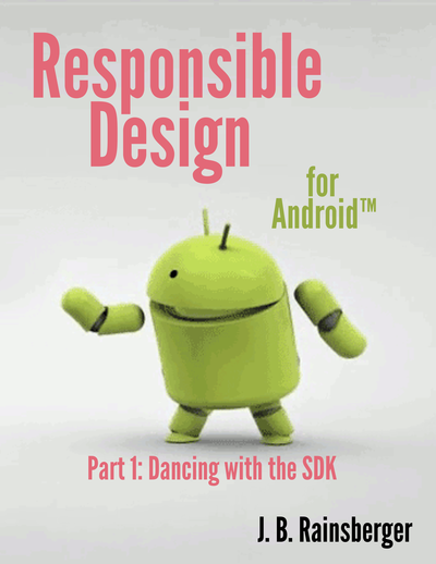Responsible Design for Android cover page