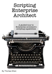 Scripting Enterprise Architect cover page