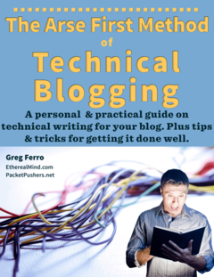 Arse First Method of Technical Blogging  cover page