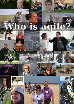 Who is agile? Volume 1 cover page