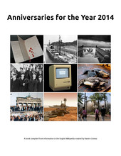Anniversaries for the Year 2014
