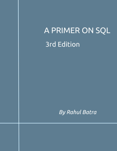 A Primer on SQL cover page