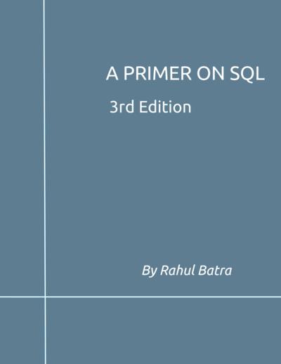 A Primer on SQL