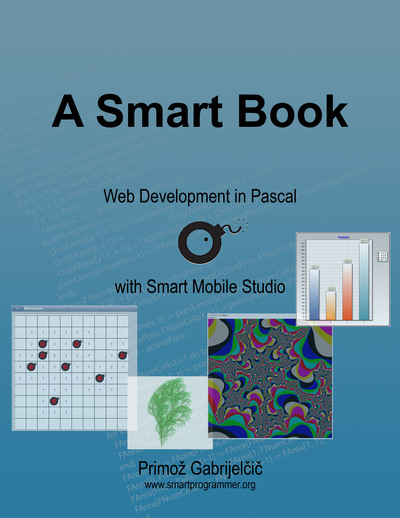 A Smart Book cover page