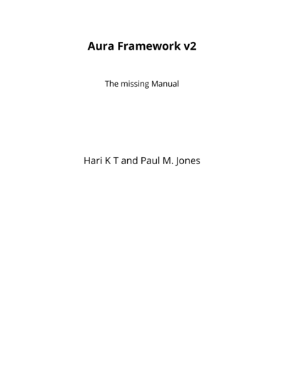 Aura Framework v2