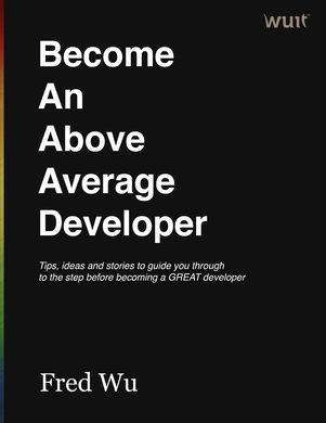 BAAAD: Become An Above Average Developer cover page